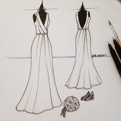 Porque você vai olhar pro seu vestido de casamento todos os dias e reviver todas as emoções como se