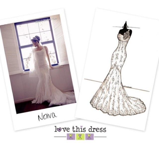 Quem não quer lembrar pra sempre do Vestido de Noiva que usou no casamento_ Vem fazer a ilustração d