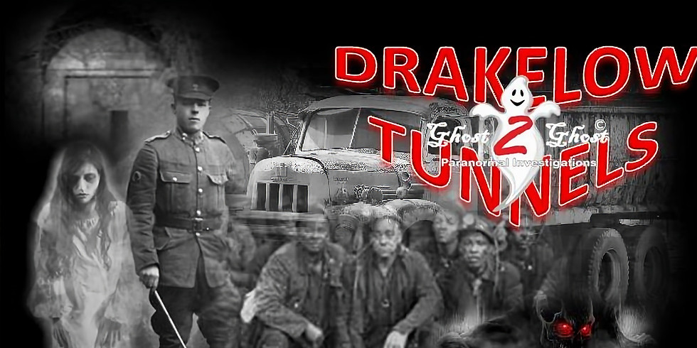 Drakelow Tunnels Ghost Hunt - Sleep Over (Optional if required) £39.00
