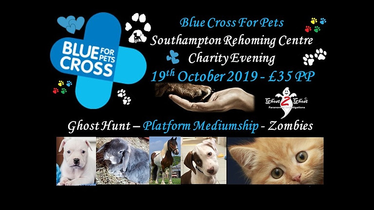 Southampton Rehoming Centre for Animals - Charity Evening - Fort Widley £35.00