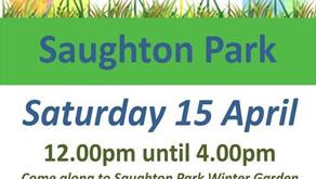 Easter  Egg Extravaganza at Saughton Park - 15 April 2017
