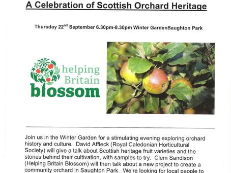Scottish Orchard Heritage