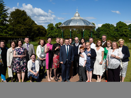 Saughton Park Officially Reopens!