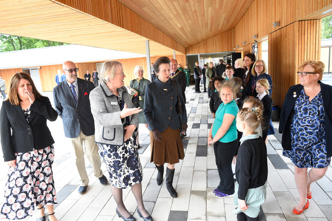 Official opening of Saughton Park, 6th June 2019.