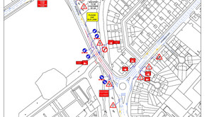 Footpath Closures At Saughton Park 2 to 13 October 2017