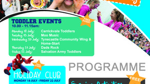 The Tent Family Fun Day 17 July