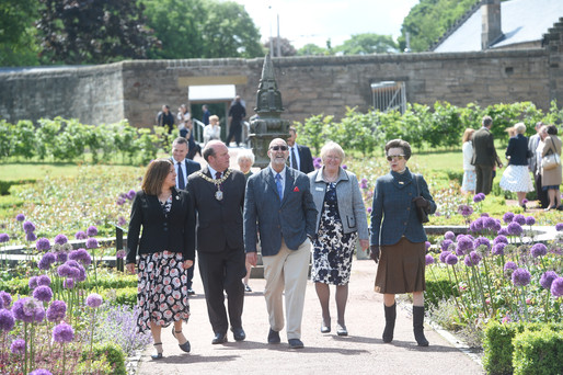 Official opening of Saughton Park 6th June 2019.