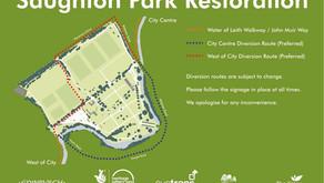 SAUGHTON PARK IMPORTANT INFORMATION – CLOSURES