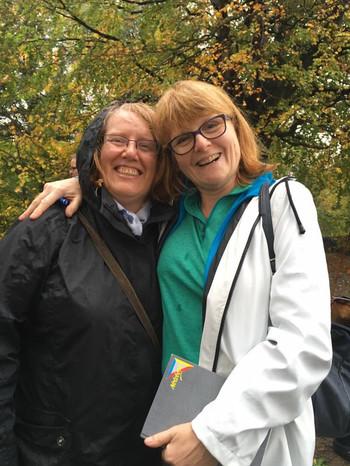 Kirsty and Sarah