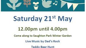 Garden Party at Saughton Park 21 May