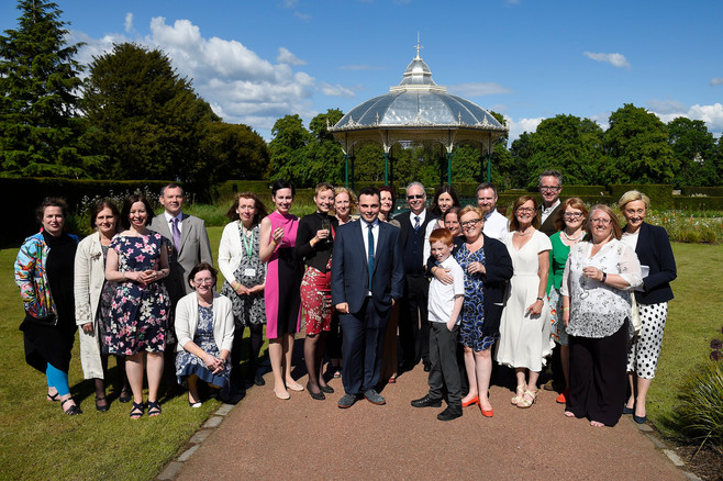 Friends of Saughton Park. Official opening of Saughton Park, 6th June 2019.
