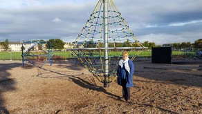 Play Park is being refurbished from 14 Feb