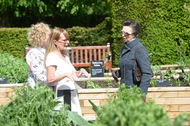 Tour of the Physic Garden, official opening, 6th June 2019.