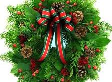 Wreath making at Saughton Park