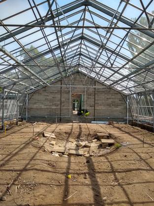 Glasshouse Construction May 2018
