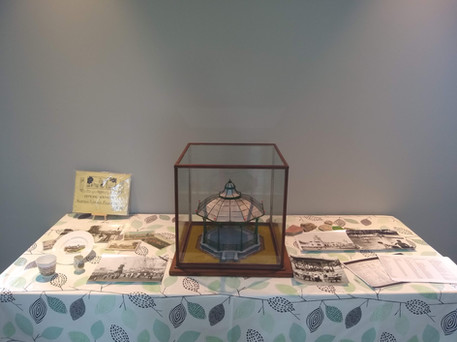 History group display. Official opening of Saughton Park, 6th June 2019.