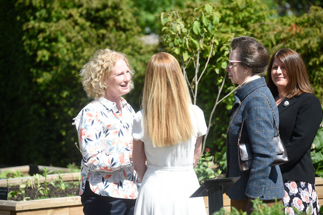 Physic Gardeners, Ros and Rona, official opening of Saughton Park 6th June 2019.