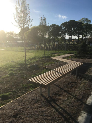 Seating at the park
