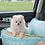 Thumbnail: Price Charming Pet Tiffany Blue Car Seat