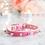 Thumbnail: Luxury Hot Pink Spike Vegan Pet Collar