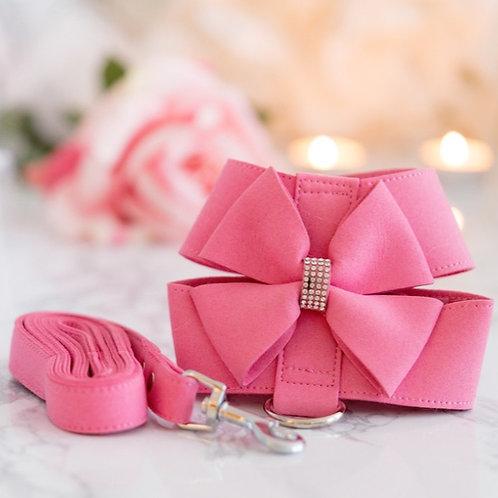 Princess Pink Soft Wearable Harness + Leash Set