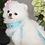 Thumbnail: Luxury Tiffany Blue Pet Harness Leash Set