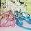 Thumbnail: Luxury Pet Harness + Leash Set Princess Pink