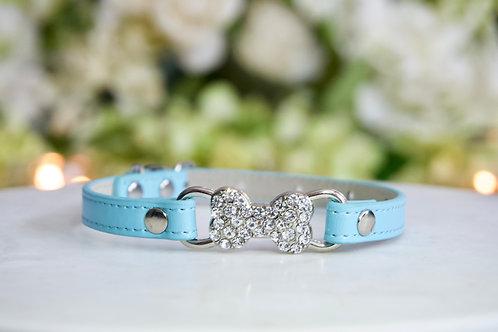 NEW! Luxury Tiffany Blue Thin Bone Collar