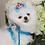 Thumbnail: Luxury Pet Harness + Leash Set Prince Charming Blue