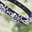 Thumbnail: NEW! Skull & Bone Black Pet Collar