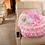 Thumbnail: Princess Aurora Pink Car Seat