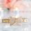 Thumbnail: Luxury Gold Rhinestone Bow Pet Collar