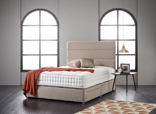 Wordsworth 2000 Mattress  and Divan Base - Firm Tension