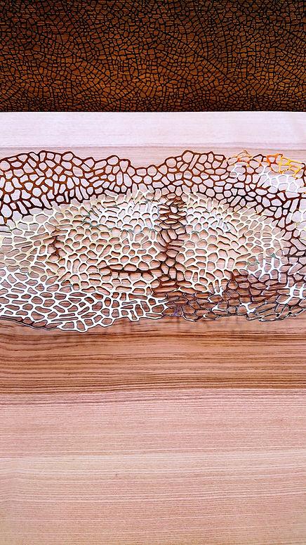 Table à manger, création sur mesure, bois suisse