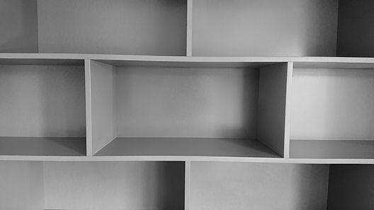 bibliothèque sur mesure, création comptemporaine design