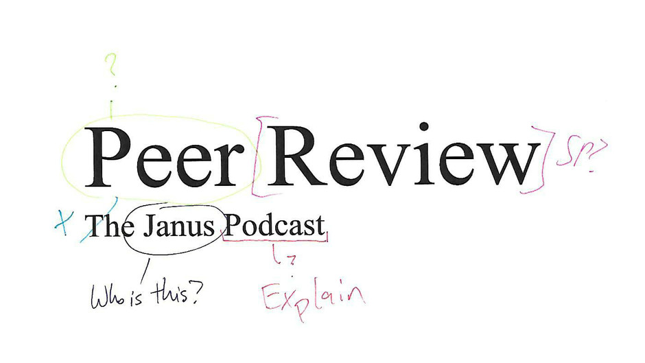 Introducing: Peer Review, the Janus Podcast!