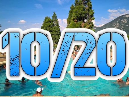 La REGOLA 10/20 in piscina