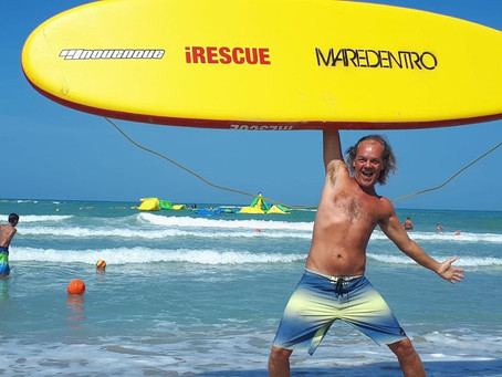 ENZO MAGGI, lifeguard della East Coast
