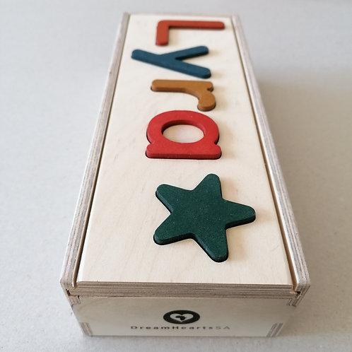 wooden dream box small earth tones