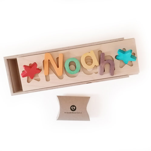 wooden dream box small rainbow