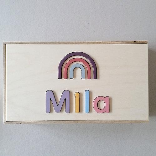 wooden dream box xxl pastel
