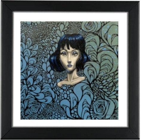"""""""Blue Paprika"""" Print"""