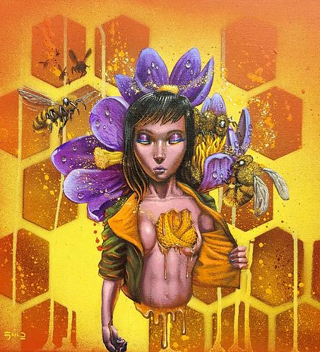 """Bee Kind"" Print"