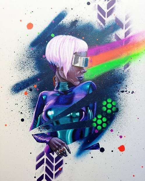 """""""Femme Droid"""""""