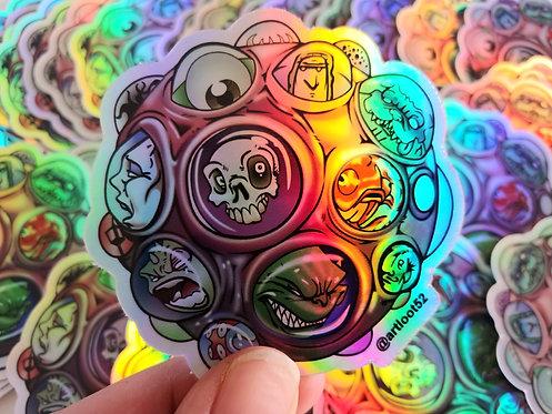 """""""Brain Cell"""" Sticker"""