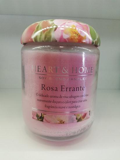 Vela Heart & Home Rosa Errante