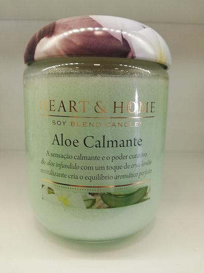 Vela Heart & Home Aloe Calmante