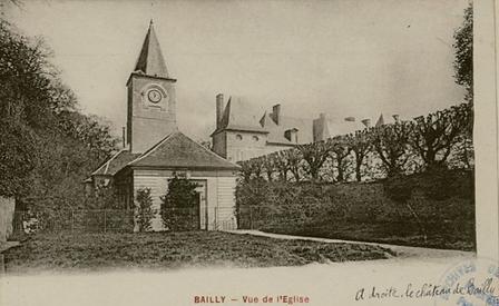 Vue de l'Eglise de Bailly