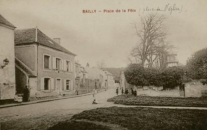 Place de la Fête à Bailly