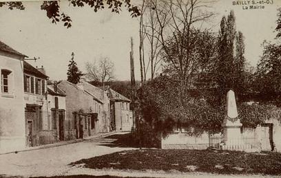La mairie de Bailly